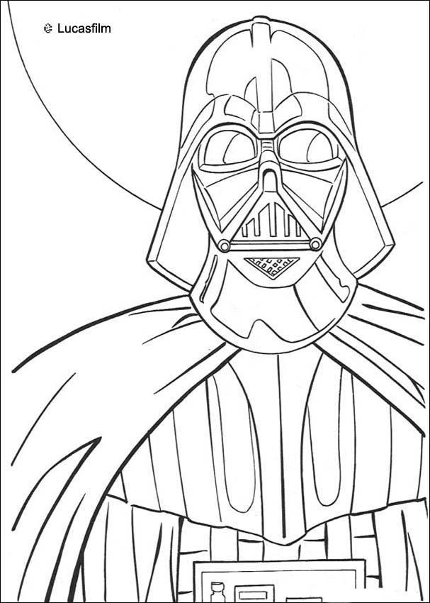 Dibujos para colorear la guerra de las galaxias - es.hellokids.com