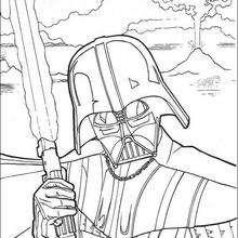 Darth Vader - Dibujos para Colorear y Pintar - Dibujos de PELICULAS colorear - Dibujos para colorear STAR WARS - Dibujos para colorear DARTH VADER