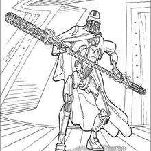 Guardaespaldas del General Grievous - Dibujos para Colorear y Pintar - Dibujos de PELICULAS colorear - Dibujos para colorear STAR WARS - Dibujos para colorear GENERAL GREVIOUS