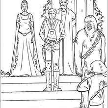Dibujo para colorear : La Victoria Jedi