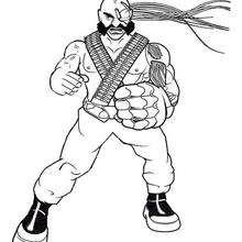 El soldado - Dibujos para Colorear y Pintar - Dibujos para colorear SUPERHEROES - Action Man para colorear