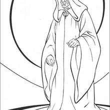 El Señor de los Sith - Dibujos para Colorear y Pintar - Dibujos de PELICULAS colorear - Dibujos para colorear STAR WARS - Dibujos para colorear GUERRA DE LAS GALAXIAS