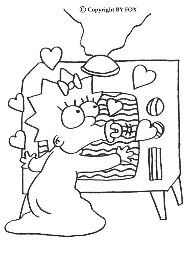 Dibujos para pintar LOS SIMPSON gratis - Dibujos para colorear ...
