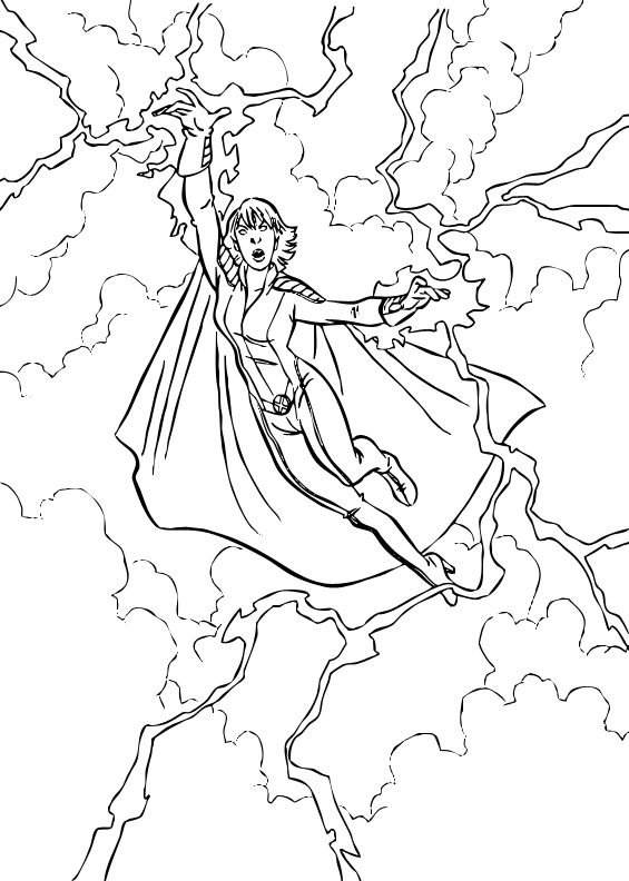 ocean storm coloring pages - photo#12