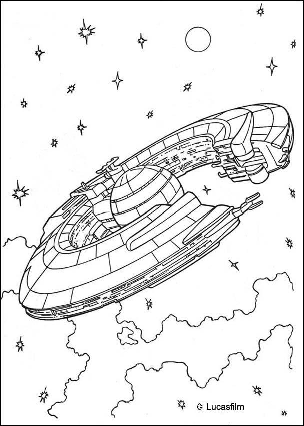 Dibujos para colorear star wars - es.hellokids.com