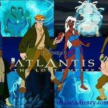Fondo de pantalla : Los personajes de Atlantis