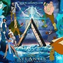 Fondo de pantalla : Atlantis, el emperio perdido