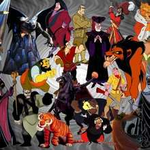 Fondo de pantalla : Los personajes malos de Disney