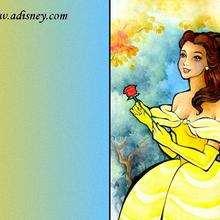 Fondo de pantalla : La bella con una rosa en las manos