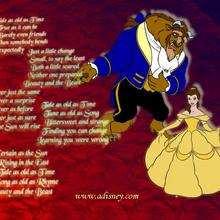 Fondo de pantalla : La bella y la bestia baila