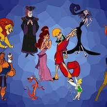 Fondo de pantalla : personajes Disney