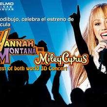 Descubre quien ha ganado sus entradas para ver la película de Hannah Montana 3D