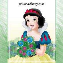 Fondo de pantalla : Blancanieves con flores