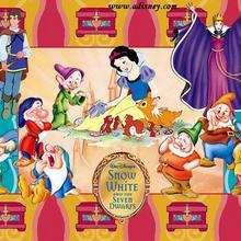 Fondo de pantalla : Blancanieves y sus amigos
