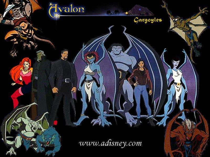 Fondos de escritorios Disney - las gárgolas de Avalon