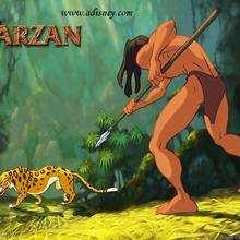 Fondo de pantalla : Tarzan y el jaguar