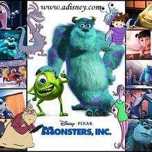 Fondo de pantalla : Monstruos SA