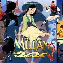 Fondo de pantalla : Mulán y sus amigos