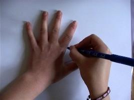Dibujar una gallina - Dibujar Dibujos - Aprender cómo dibujar paso a paso - Dibujar dibujos ANIMALES - Dibujar animales CON TU MANO