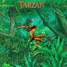 Fondo de pantalla : Tarzán en la selva