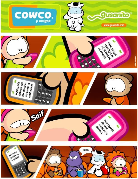 Distancia - Lecturas Infantiles - Tiras Cómicas - las tiras cómicas de Gusanito