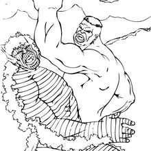 Hulk y Abominación - Dibujos para Colorear y Pintar - Dibujos para colorear SUPERHEROES - Hulk para colorear