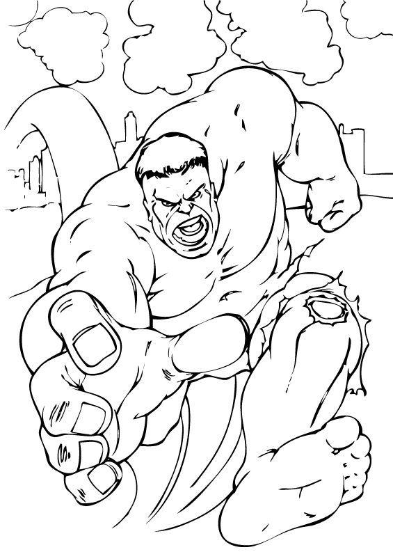 Fantástico La Increíble Cara De Hulk Para Colorear Regalo - Ideas ...