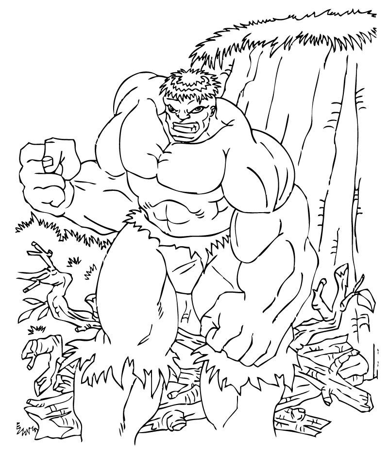 Dibujos De Hulk Para Colorear Pintar E Imprimir 60 Dibujos