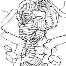 La Abominación en acción - Dibujos para Colorear y Pintar - Dibujos para colorear SUPERHEROES - Hulk para colorear