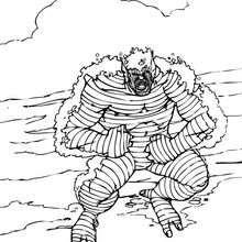 La rabia de la Abominación - Dibujos para Colorear y Pintar - Dibujos para colorear SUPERHEROES - Hulk para colorear