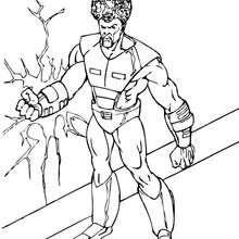 El Leader - Dibujos para Colorear y Pintar - Dibujos para colorear SUPERHEROES - Hulk para colorear