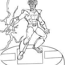 Samuel Sterns - Dibujos para Colorear y Pintar - Dibujos para colorear SUPERHEROES - Hulk para colorear