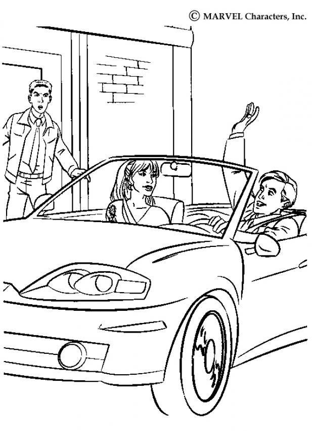 mary jane watson coloring pages - photo#23