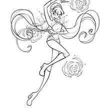 El poder de Stella - Dibujos para Colorear y Pintar - Dibujos para colorear PERSONAJES - PERSONAJES TV para colorear - Las Winx para colorear