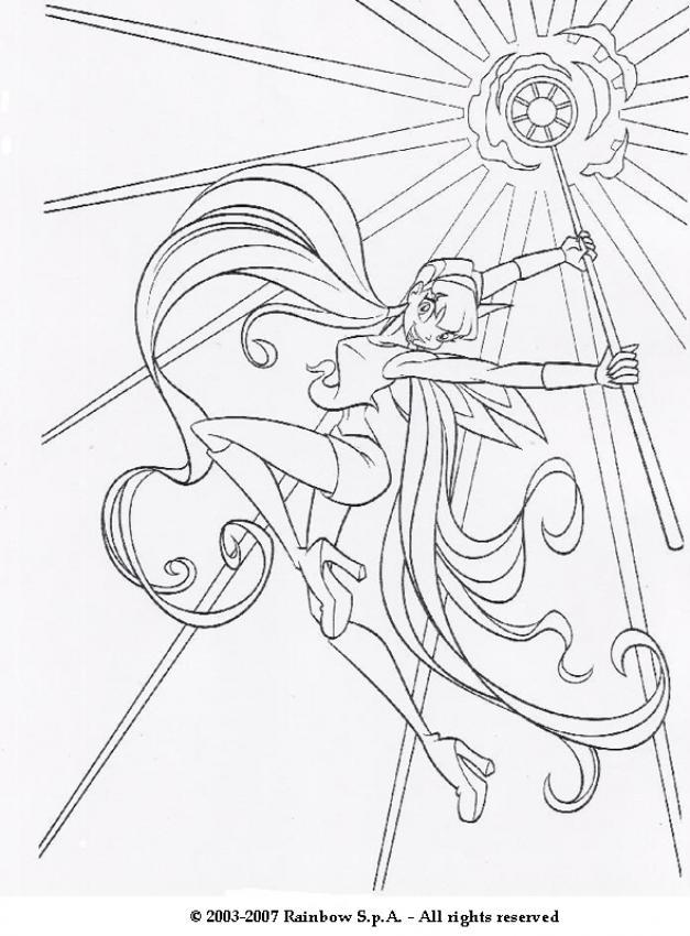Las Winx para colorear  Dibujos para colorear  Imprime dibujos