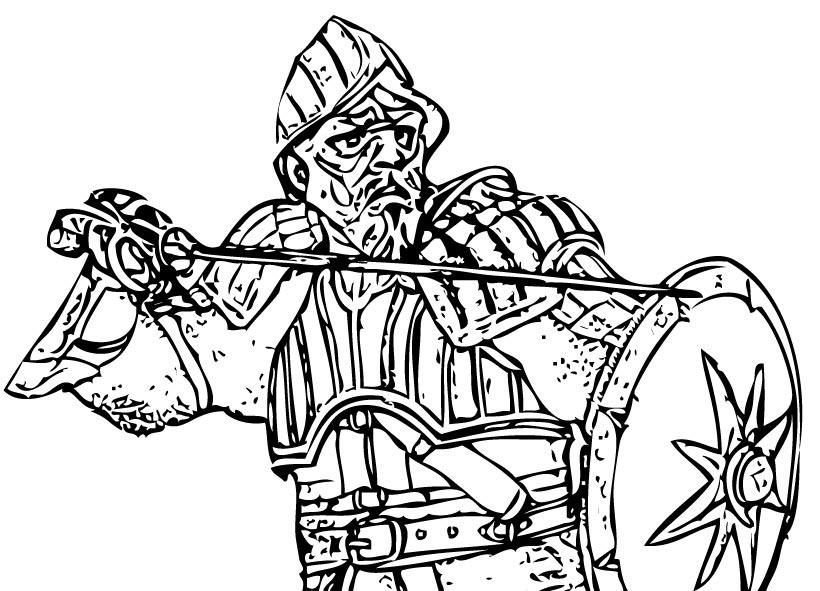 Dibujos para colorear rey miraz - es.hellokids.com