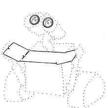 Dibujo para colorear : Wall-E para imprimir