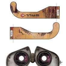Las gafas de Wall-e - Dibujos para Colorear y Pintar - Dibujos DISNEY para colorear - Dibujos para colorear PERSONAJES DISNEY - Dibujos para colorear WALL-E
