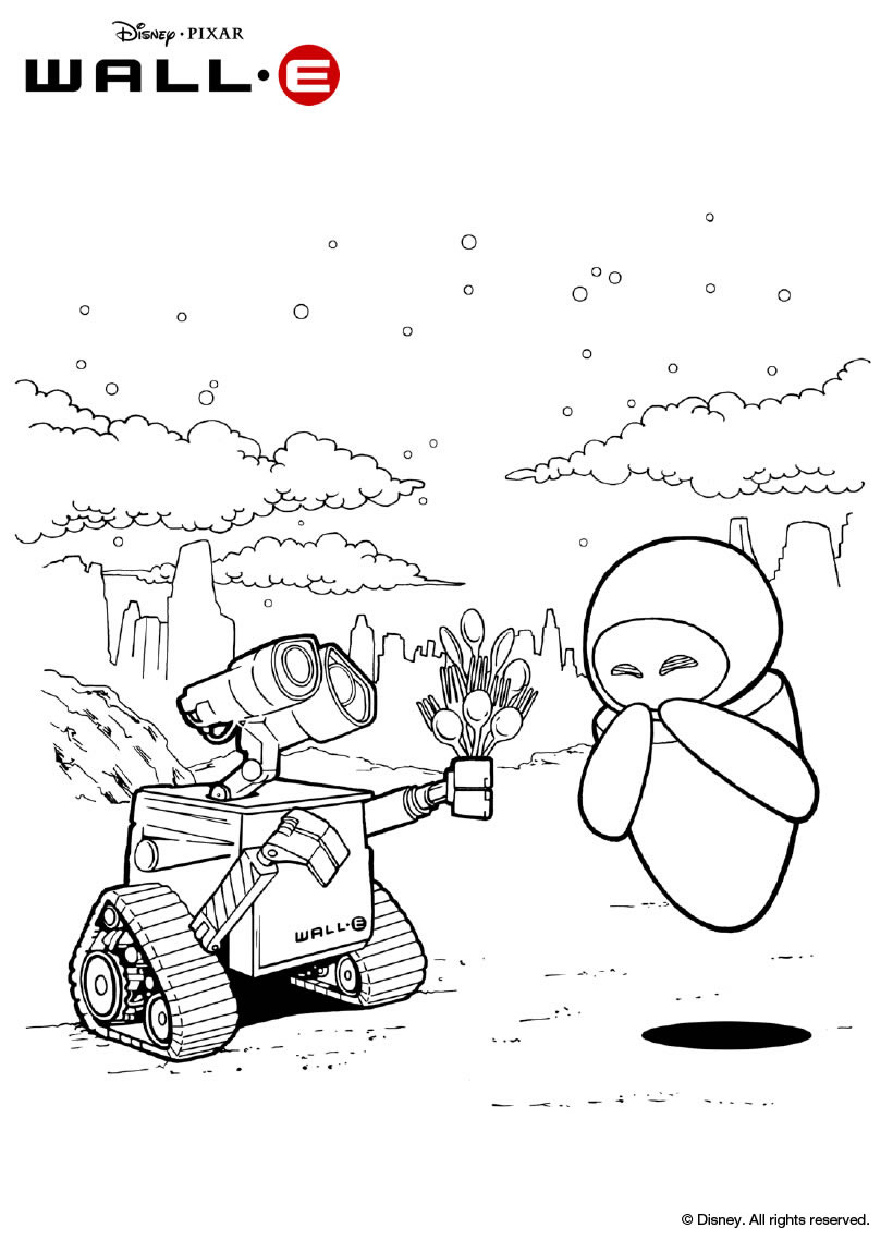 Coloriage Walle1
