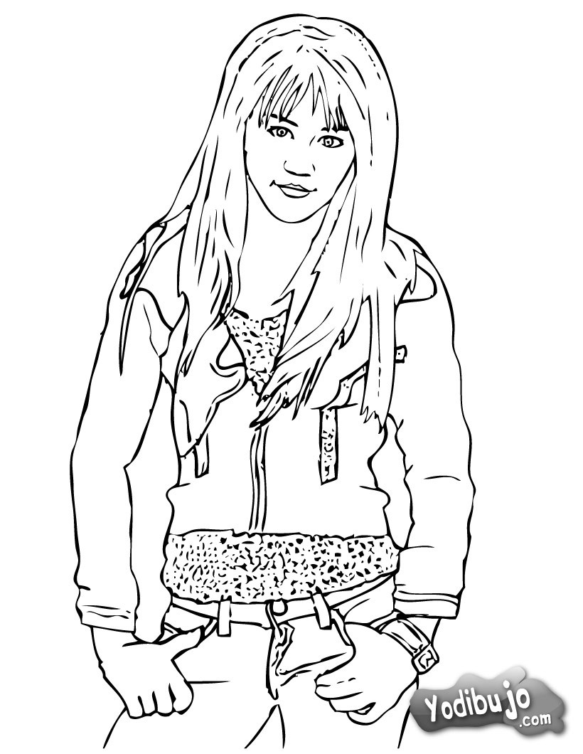 emily osment coloring pages - photo#5