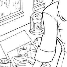 Teniente Ramirez - Dibujos para Colorear y Pintar - Dibujos para colorear SUPERHEROES - Dibujos para colorear BATMAN - Dibujos para colorear PERSONAJES DE BATMAN