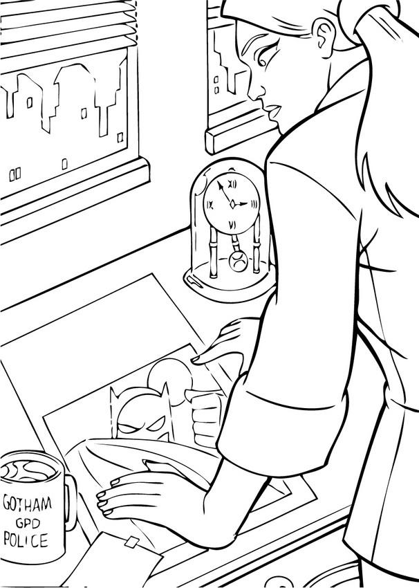 Dibujos para colorear batman con los murcielagos  eshellokidscom