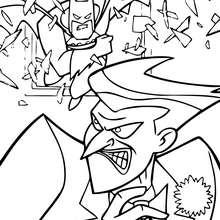 El Joker contra Batman - Dibujos para Colorear y Pintar - Dibujos para colorear SUPERHEROES - Dibujos para colorear BATMAN - Dibujos para colorear JOKER