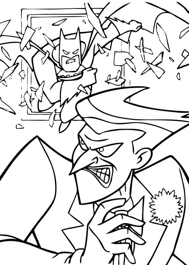 Dibujos para colorear el joker contra batman - es ...
