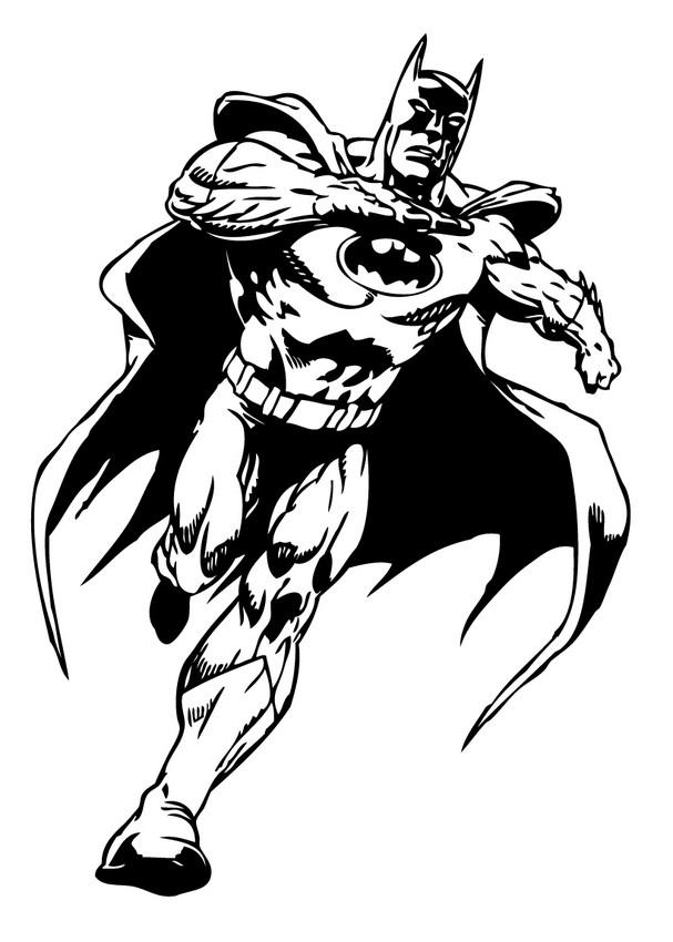 Dibujos para colorear robin el ayudante de batman - es.hellokids.com