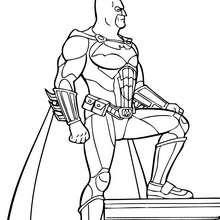 Batman el Superhéroe - Dibujos para Colorear y Pintar - Dibujos para colorear SUPERHEROES - Dibujos para colorear BATMAN - Dibujos para pintar BATMAN GRATIS