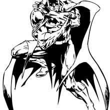Dibujo para colorear : Batman el poderoso