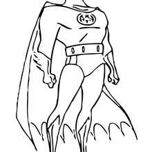 Batman el hombre murciélago - Dibujos para Colorear y Pintar - Dibujos para colorear SUPERHEROES - Dibujos para colorear BATMAN - Dibujos para colorear HOMBRE MURCIELAGO