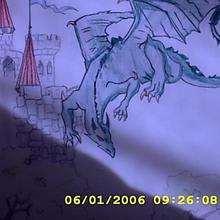 El dragón de aurelia - Dibujar Dibujos - Dibujos de NIÑOS - Dibujos de ANIMALES - Dibujos de DRAGONES