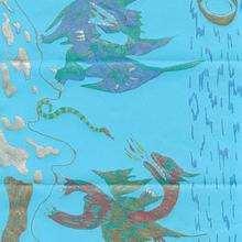 Ilustración : Los dragones de Cordelia